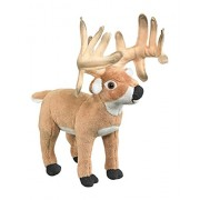 Conservation Critters White tailed Deer Buck Plush Stuffed Animal Toy by Conservation Critters