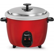Pigeon joy 1 Electric Rice Cooker(1 L, Red)