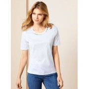 Walbusch Collier-Shirt Weiß 52/54