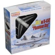 Dragon Models 1/400 Boeing 747 with X-45C Phantom Ray , Edwards AFB