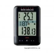 CatEye Micro Wireless CC-MC200W - Compteur sans fil - noir Compteurs de vélo