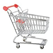Small Foot 8001 Shopping Cart for Dolls