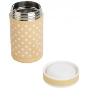 Nuvita 1472 Stainless Steel Thermal Food Container (500 ml, Beige)