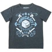 T-shirt Minecraft szary Adventures Club
