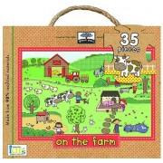 Green Start Giant Floor Puzzles : On The Farm(Jillian Phillips)