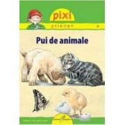 Pixi stie-tot - Pui de animale - Hanna Sorensen