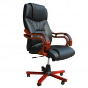 vidaXL Kancelárske čierne kreslo pre riaditeľa