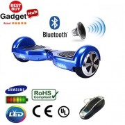"6.5"" Midnight Blue Bluetooth Segway Hoverboard"