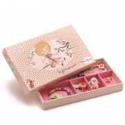 Set bijuterii roz Djeco