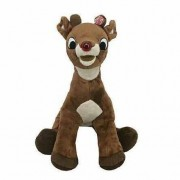 Rudolph the Red-Nosed Reindeer 15 inch Light-up Musical Plush Doll by Dan Dee
