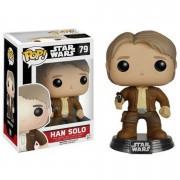 Star Wars The Force Awakens Han Solo Pop! Vinyl Bobble Head Figure