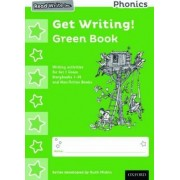 Read Write Inc. Phonics: Get Writing! Green Book Pack of 10 by Ruth Miskin