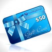 Gift Certificate $50 Menswear Gift Ideas