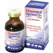 CHEMITRIL INJETÁVEL 2,5% (ENROFLOXACINO) - 20ml