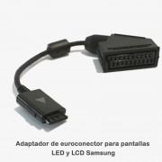 Adaptador de Euroconector para Pantallas Led Samsung