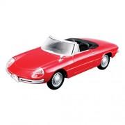 Bburago - Modellino Alfa Romeo Spidere 1966, scala: 1:32