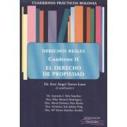 Cuadernos practicos Bolonia. Derechos reales II / Bolonia practical notebooks. Real rights by Jose Angel Torres Lana