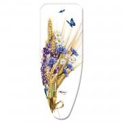 Gimi vasalóállvány huzat M-es méret virágos mintával - 132x48cm