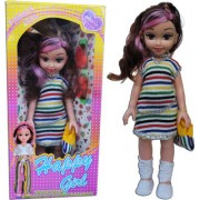Happy Girl Baby Girls Toys Doll for Kids ( Multi Color )