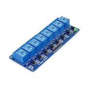 BOOOLE New 5V 8 Channel Relay Module Board For Arduino Compatible Pic Avr Mcu Dsp Arm Electronic - DIY Maker Open Source