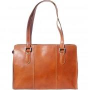 Florence Leather Market Borsa a spalla in pelle di vitello di ottima qualità (6557)