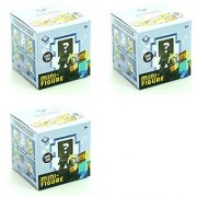 ( SET OF 3 MYSTERY BOXES ) Minecraft Series 5 ICE SERIES Miniature Mystery Figure Blind Box