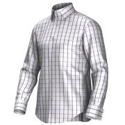Maatoverhemd wit/lila 55295