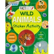 Discovery Kids Wild Animals Sticker Activity by Lisa Miles