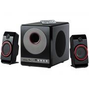 2.1 Premium-Multimedia-Soundsystem mit Subwoofer, MP3-Player, 40 Watt