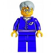 Lego Postman Factuer Cartero Minifigure Exclusive from set 70751 ninjago
