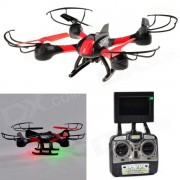 HelicMAX 4-CH 2.4GHz R/C Quadcopter w/ 5.8G Real-time Video / 360 Flip / Headless Mode / Return