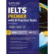 IELTS Premier with 8 Practice Tests by Kaplan Test Prep