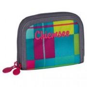 Chiemsee Twin Zip Wallet Karo Blue Cabaret