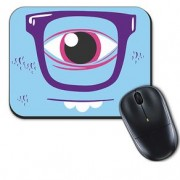 Mouse Pad Ciclope Azul