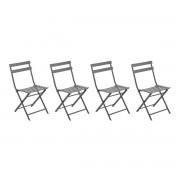 Hespéride Chaise pliante Greensboro Ardoise Jardin