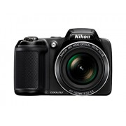 Nikon Coolpix L340 20.2MP Point And Shoot Digital Camera (Black) with 28x Optical Zoom