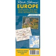 Rick Steves' Europe Map by Perseus Publishing