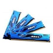 G.Skill ARES - DDR3 - 16 Go : 4 x 4 Go - DIMM 240 broches - 1866 MHz / PC3-14900 - CL9 - 1.5 V - mémoire sans tampon - non ECC