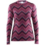 Craft Mix and Match - Sous-vêtement Femme - gris/rose S T-shirts manches longues