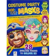 Costume Party Pop Up Masks by Hinkler Books Pty Ltd