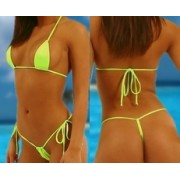 Bikini Juliana reggiseno triangolo string aggiustabile lacci