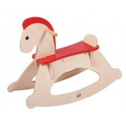 Hape Rock and Ride Kid's Wooden Rocking Horse