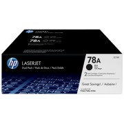 HP 78A Blk Dual Pack LJ Toner Cartridge-2 100 pages for P1566/P1606dn/M1536dnf