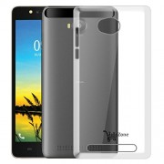 Hello Zone Exclusive Soft Transparent Crystal Clear Back Cover Back Case Cover For Lava A79