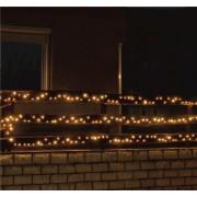 Kültéri LED fényfüzér 14 m 200 db meleg fehér LED KKL 200WW