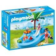 Playmobil 6673- Plm Summer Fun Piscinetta dei Bimbi con Scivolo