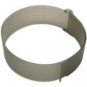 Fackelmann Tortenring, Kunststoff, 15-30 cm, verstellbarer Torten Ring H 8,75 cm