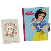 Disney Princesas Blancanieves y Cenicienta Agenda Cuaderno Diario Secreto