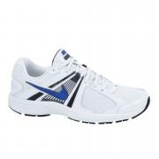 Nike Men's Dart 10 Trainers - White/Hypblu - 12