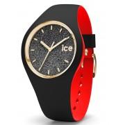 Ice-Watch Loulou IW007237 Black Glitter Medium horloge